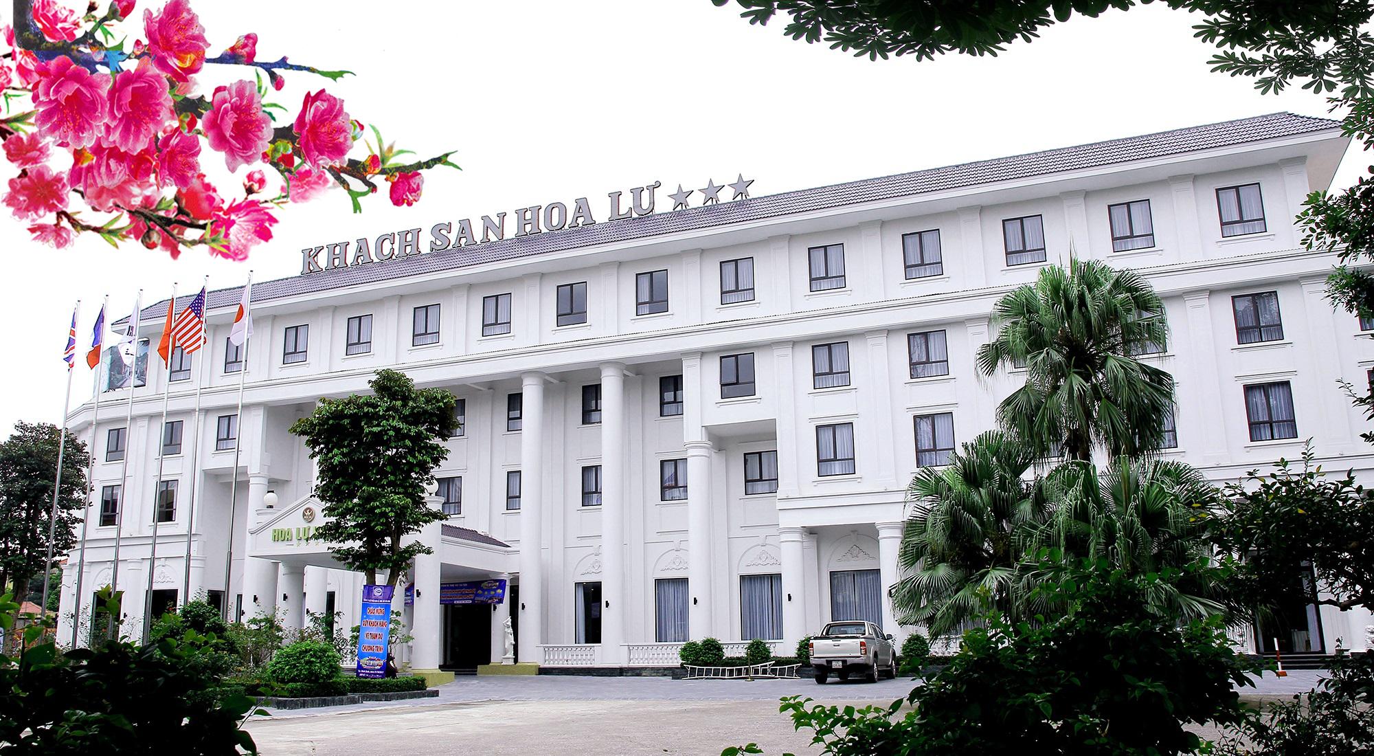 Khách sạn Hoa Lư 3*:úi Kỳ Lân, #1 Trần Hưng Đạo, Trung tâm Tp. Ninh Bình, tỉnh Ninh Bình