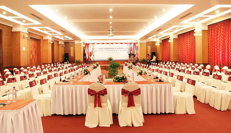 Tổ chức hội nghị hội thảo tại Huế ( Cụm khách sạn )