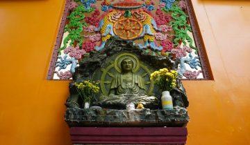 Chùa Tây Tạng, ngôi chùa có tượng Phật bằng tóc người lớn nhất Việt Nam
