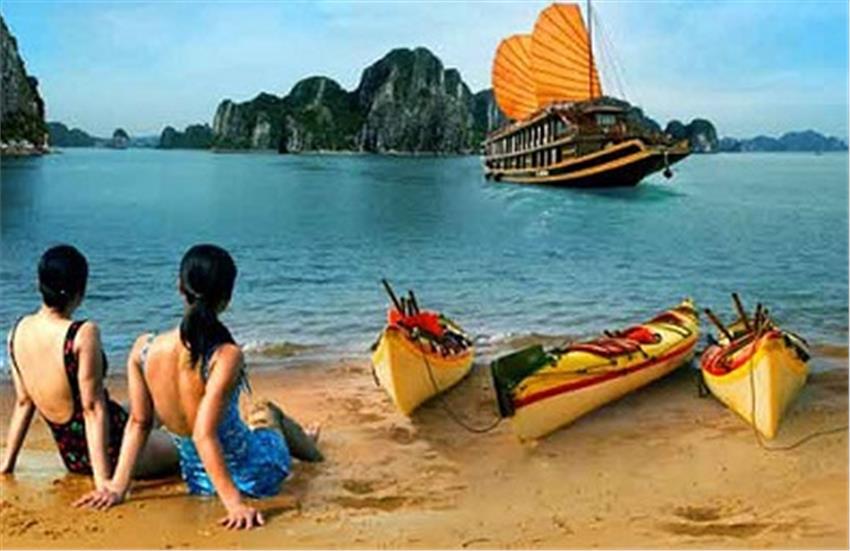 Du lịch cuối tuần : Vịnh Hạ Long, Đảo Cát Bà, Đảo Khỉ, làng chài Việt Hải