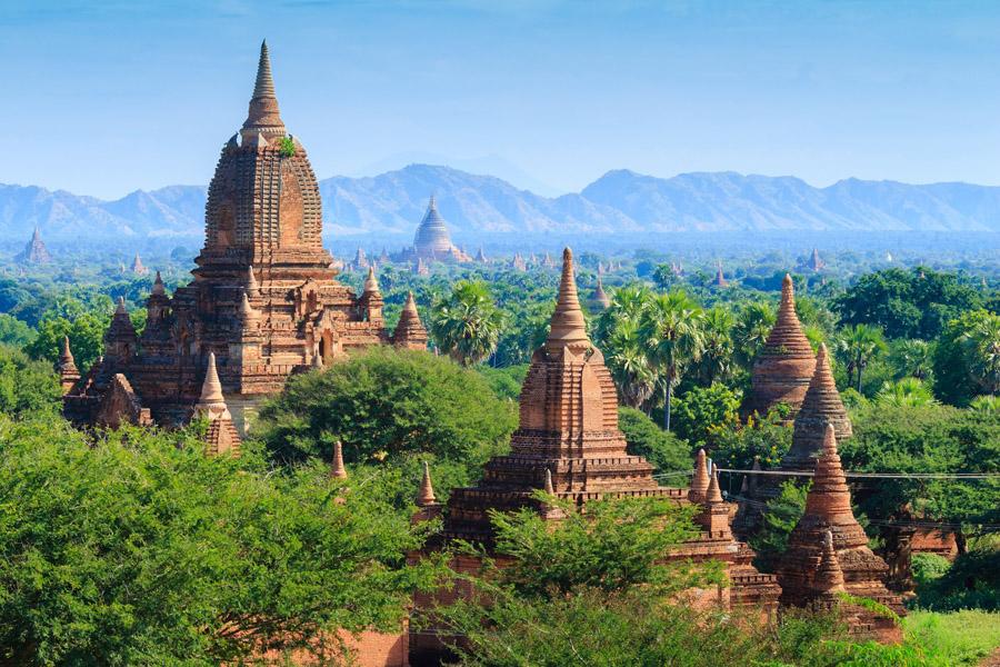 Khám phá Bagan – Thành phố khinh khí cầu