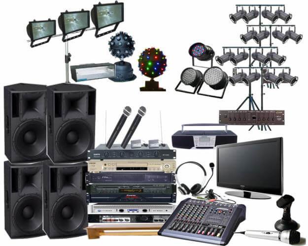 Cho thuê âm thanh chuyên nghiệp