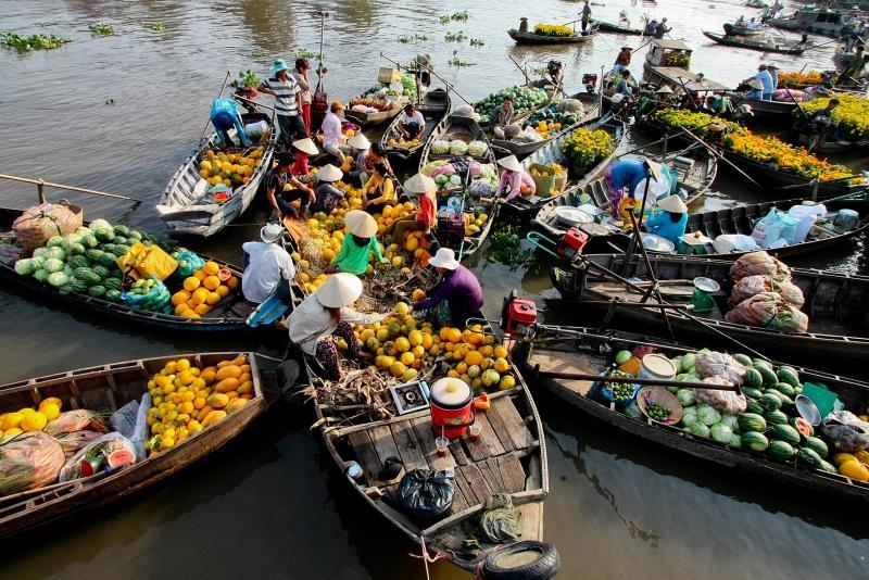 Trải nghiệm du thuyền thưởng ngoạn sông nước Mê Kông 3N2Đ: Hà Nội – Cần Thơ – Sa Đéc – Cái Bè