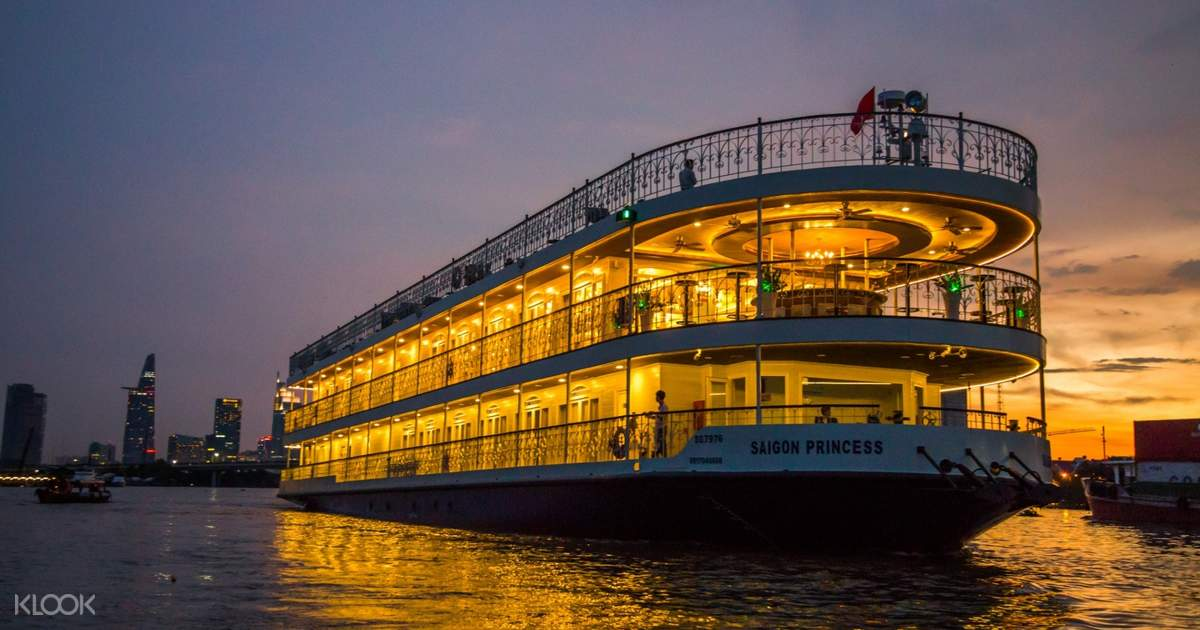 Ăn Tối Trên Du Thuyền 5 Sao Saigon Princess